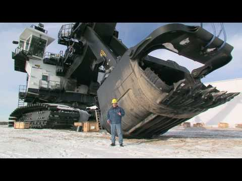 P&H Mining Equipment 4100 AC Mining Shovel Walkthrough