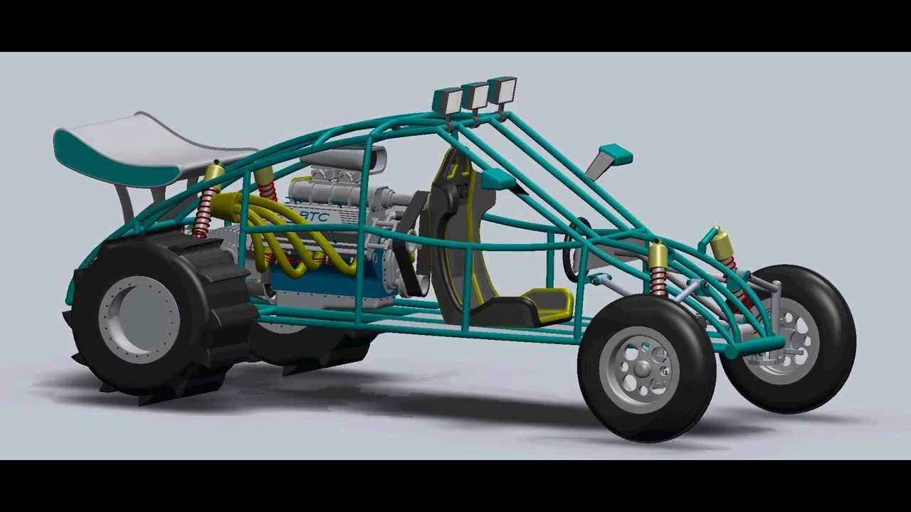 Single Seat Sand Rail Concept Youtube