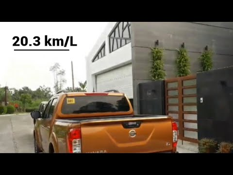 20.3 Km/L Nissan Navara 4x2 Manual |fuel Efficient Pick Up Truck