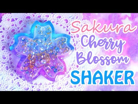 Sakura Cherry Blossom Shaker Charm | Valentine's Day Collab ft. PinkSugarCotton & PolymomoTea