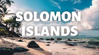 Solomon Island cinematic travel video in 4k Ultra HD