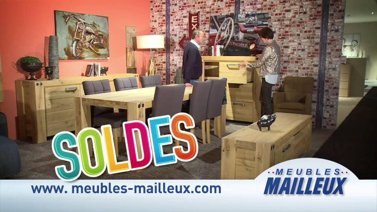 Meubles mailleux soldes juillet 2016 4 youtube for Ameublement soldes
