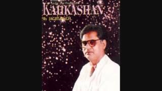 Majaz Lakhnawi - Jagjit Singh Aye Ghame dil kya karoon.wmv