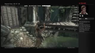 Tomb Raider Live PS4 Broadcast