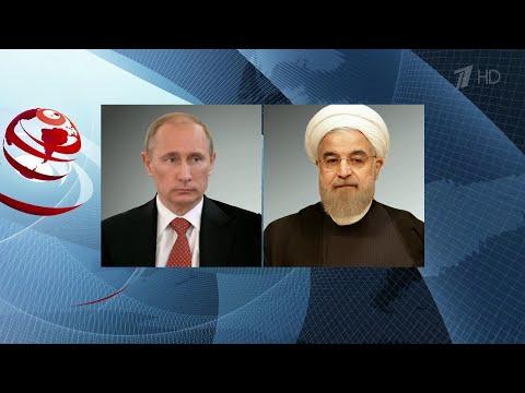 Противодействие коронавирусу стало одной из тем телефонного разговора президентов России и Ирана.