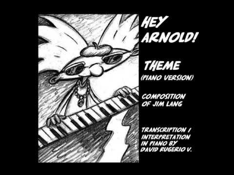 Hey Arnold! Theme ( Piano version )