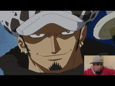 Live Reaction One Piece Episode 584 585 -  Trafalgar Law SHICHIBUKAI