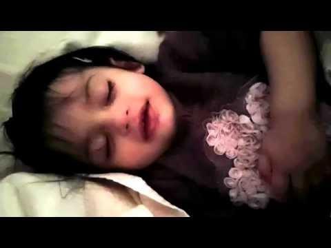 Sweet Baby Smiling While Sleeping :)