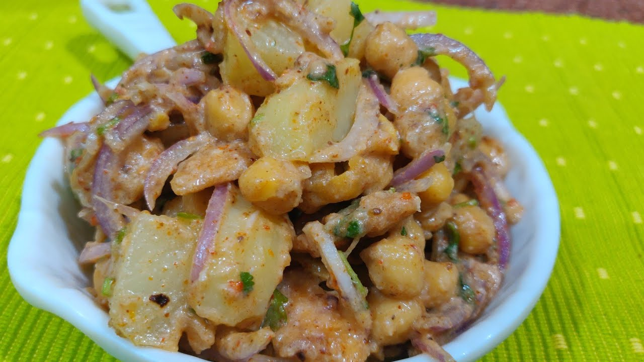 Aloo choley ki chatpati chaat | Chana aloo chaat recipe | Ramadan special Lahori chana chaat recipe - YouTube