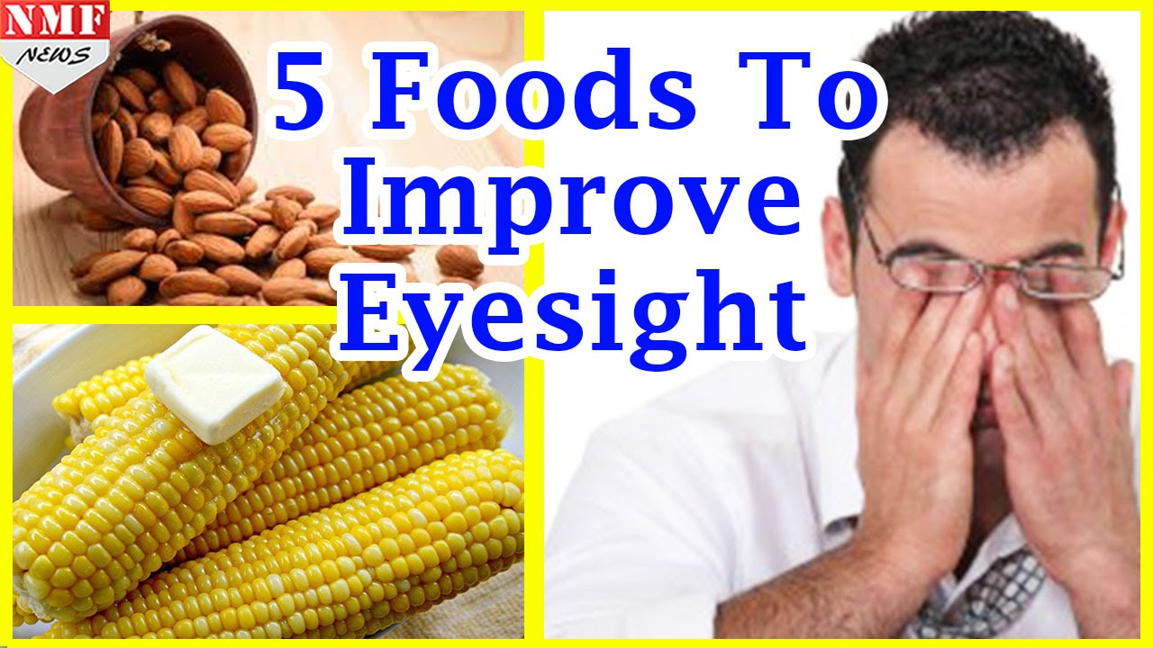 Amazing Foods and Exercises That Strengthen Your Eyesight