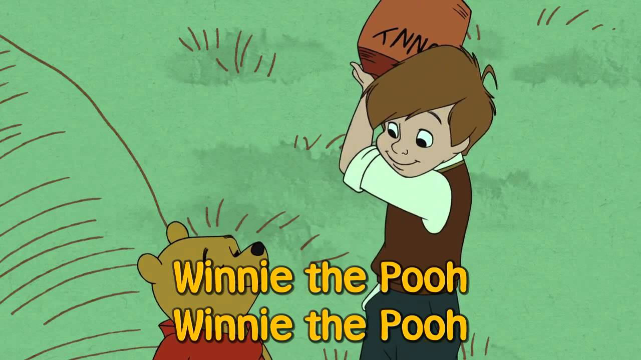 Winnie the pooh theme song sing along lyrics youtube