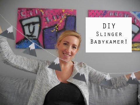 DIY - Decoratieve slinger babykamer