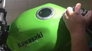 Renovace Motorky Kawasaki Z1000
