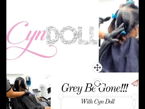 Highly requested! Grey coverage and silk!!!Follow me on instagram @ _iamcyndoll_
