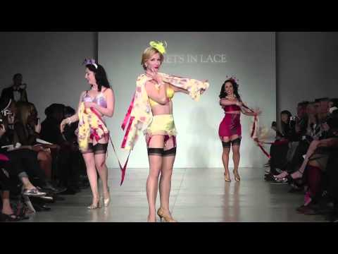 Secrets in Lace at Lingerie Fashion Week 2014 with Angie Pontani