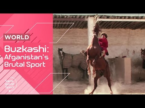 Brutal Game Buzkashi! | Afghanistan's National Sport | Trans World Sport