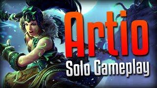 Smite: PURE INSANITY!- Wild Druid Artio Solo Gameplay