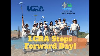 LCRA Steps Forward Day! Friday, April 9, 2021