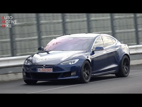 Video captures Tesla Model S Plaid ripping through the Nürburgring