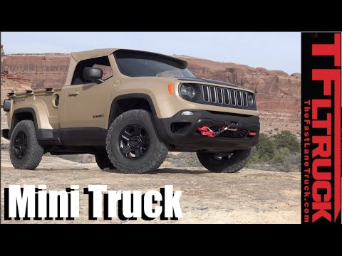 We Drive The Jeep Comanche Diesel Mini Truck Concept Off