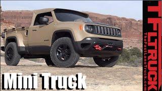 We drive the Jeep Comanche Diesel Mini Truck Concept Off-Road