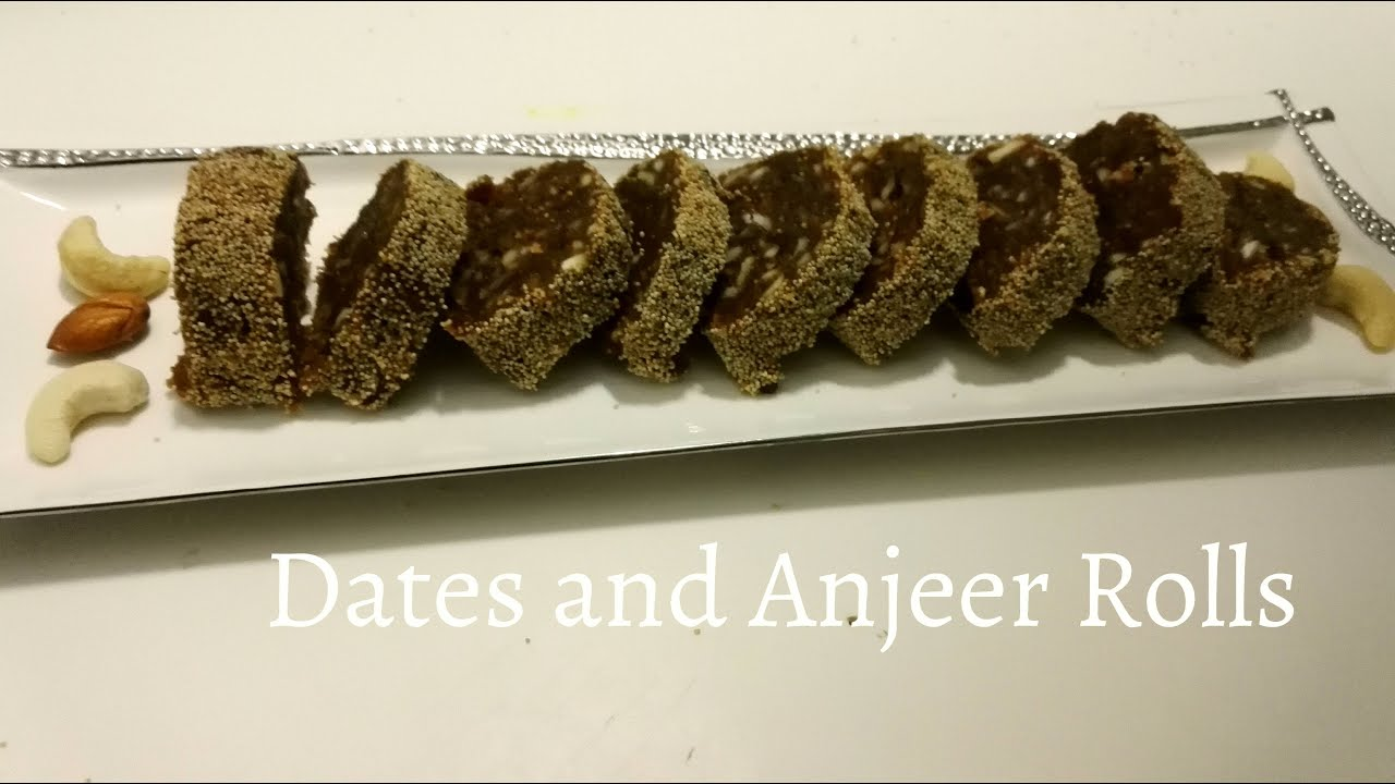 Dates and anjeer rolls no sugar l simple recipie youtube dates and anjeer rolls no sugar l simple recipie forumfinder Image collections