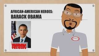 Black History Month: African American Heroes – Barack Obama – Educational Cartoon for Children