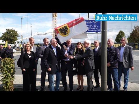 Der BVB weiht den Aki-Schmidt-Platz in Brackel ein