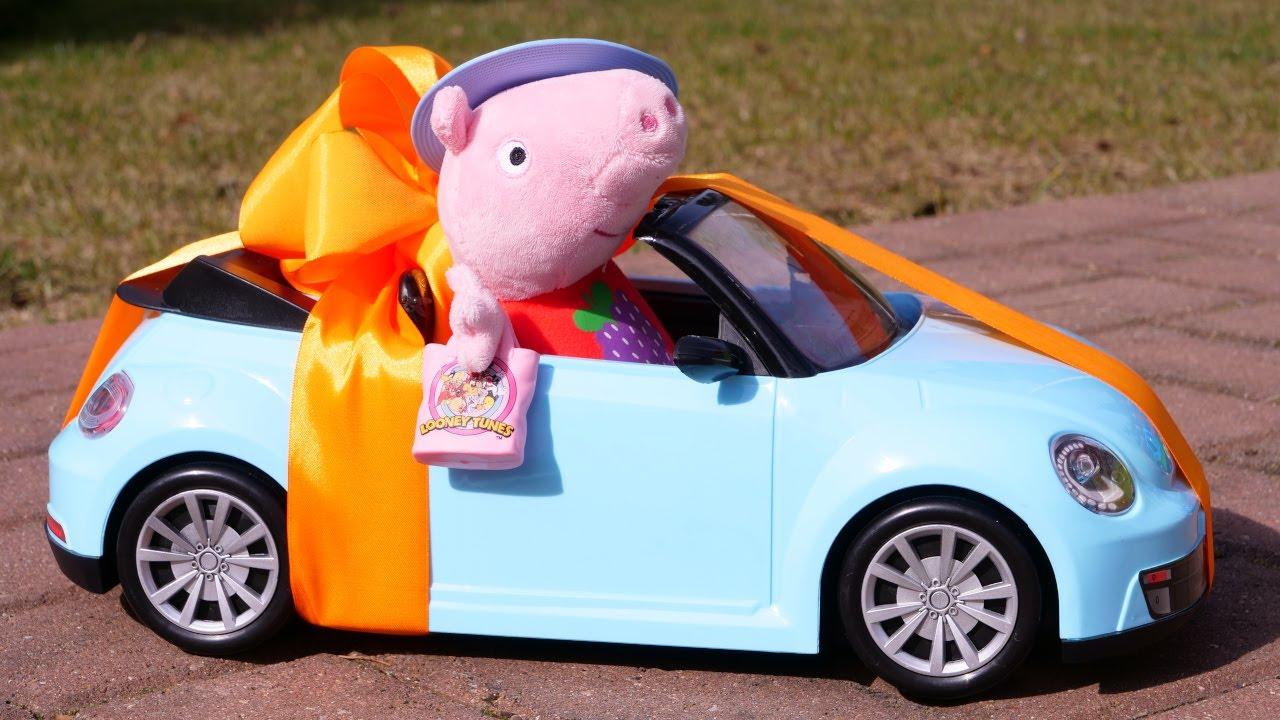 Свинка Пеппа и Джордж — Открываем коробку с сюрпризами ...