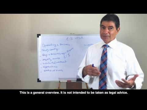 E2 Visa Lawyer: 6 keys to E2 Investment Visa for Entrepreneurs