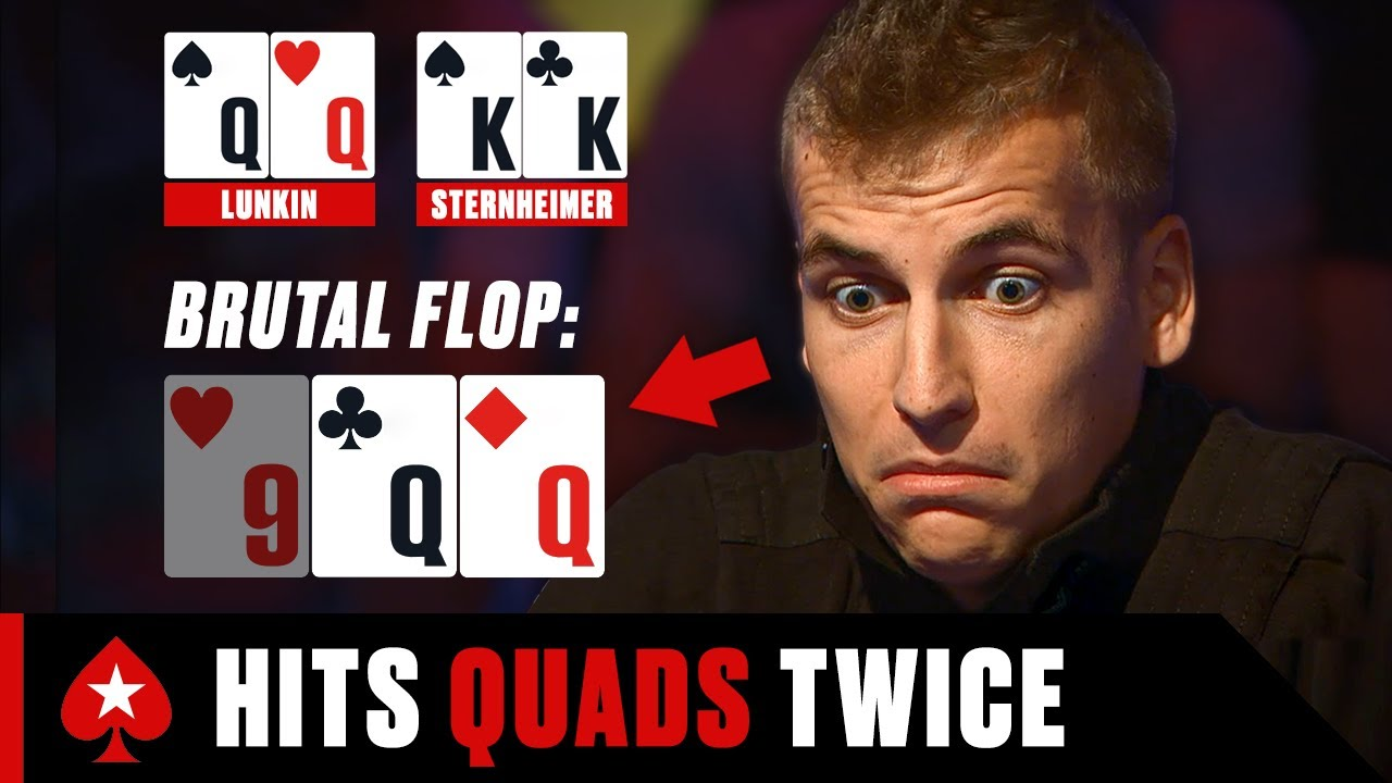Download Russian Player Hits DOUBLE QUADS ♠️ PokerStars