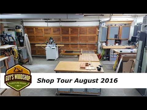 Woodworking Shop Tour August 2016