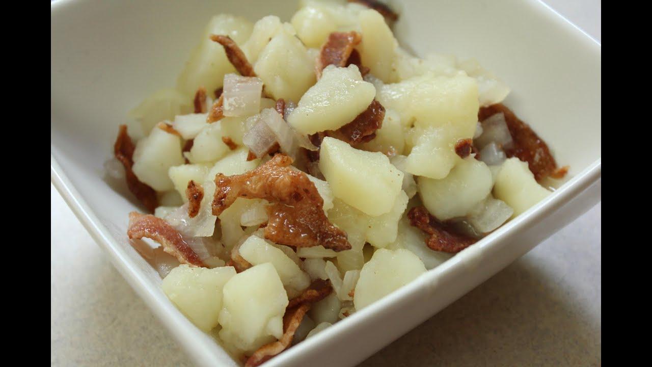 Hot German Potato Salad! Noreen's Kitchen Family Favorite ...  German Hot Dish
