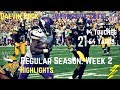 Dalvin Cook Week 2 Regular Season Highlights Impressive Cuts | 9/17/2017