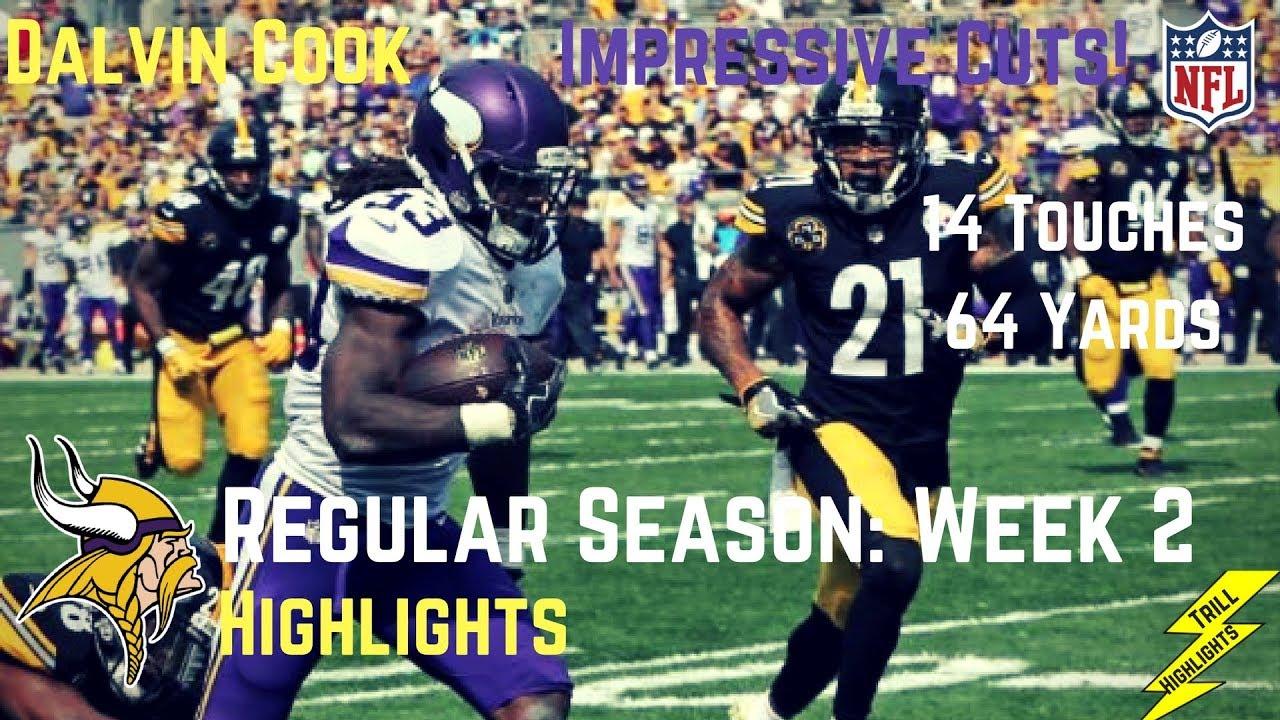 Dalvin Cook Week 2 Regular Season Highlights Impressive Cuts 9 17 2017