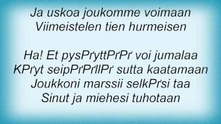 """TERГ""""SBETONI - Kuumilla Porteilla Lyrics"""