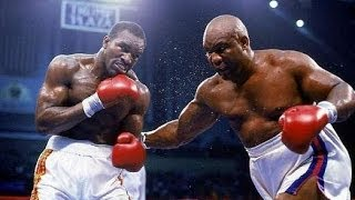 Evander Holyfield vs George Foreman (Highlights)