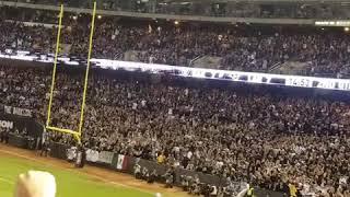 2018 Raiders vs Rams Monday night