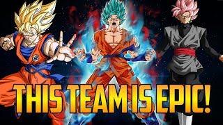 DBFZ ▰ Doza's Team Goku Has Great Synergy【Dragon Ball FighterZ】