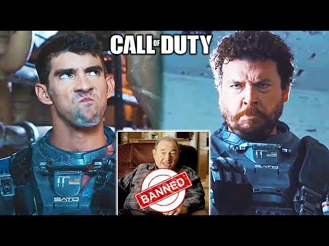 10 BEST Call Of Duty *LIVE ACTION* Trailers + BANNED Bonus Trailer   Chaos