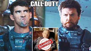 10 BEST Call of Duty *LIVE ACTION* Trailers + BANNED Bonus Trailer | Chaos
