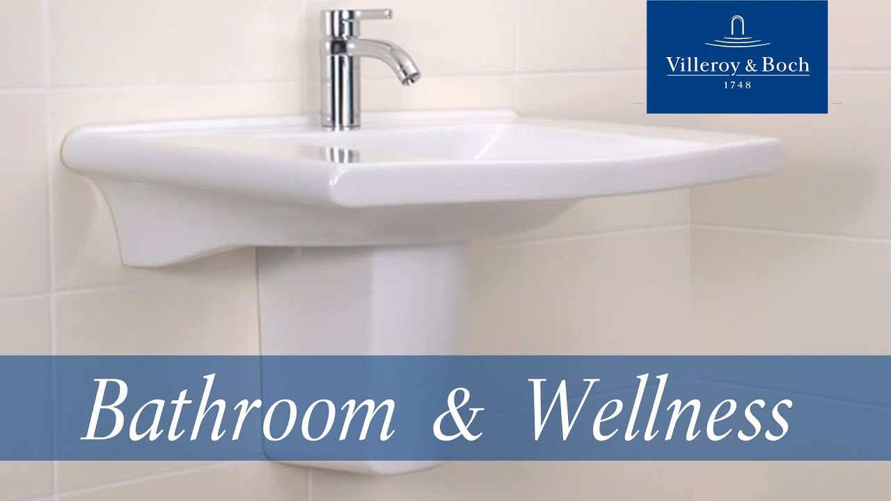 Villeroy and boch bathroom sink - How To Install Trap Covers With Smartfix Villeroy Boch