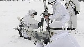 Мотострелки нейтрализовали группу условных диверсантов