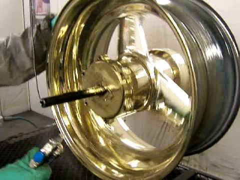 peinture chrome tout supports - youtube
