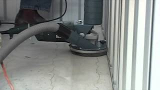 Situp N Grind Dustless Concrete Grinder And Floor Edger for Epoxy Removal and Floor Preparation