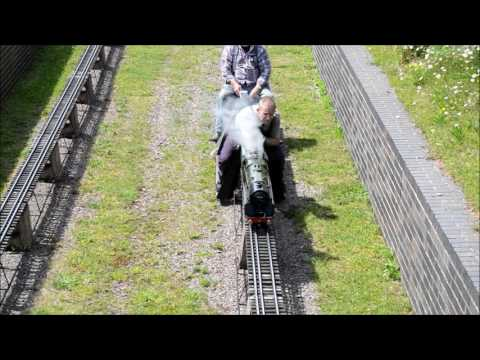 Nottingham Society of Model & Experimental Engineers Ltd Pacific Rally 2017