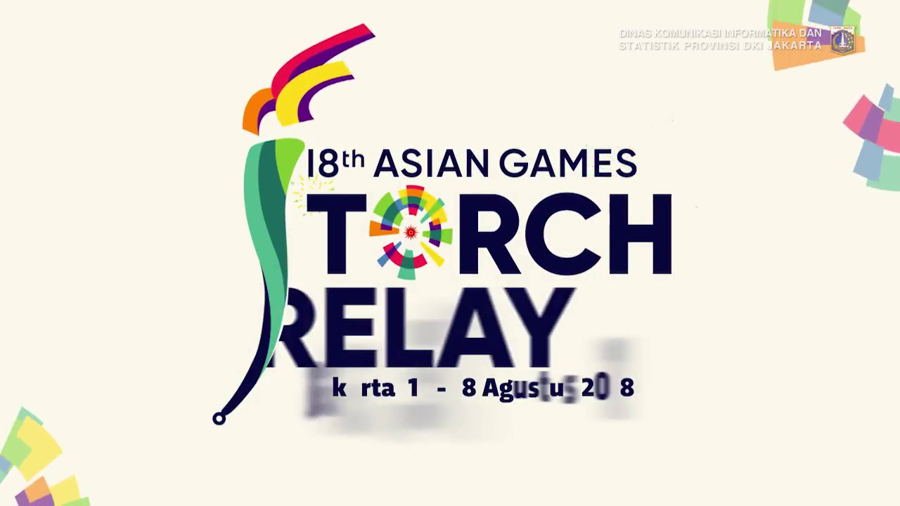 Rute Torch Relay Asian Games