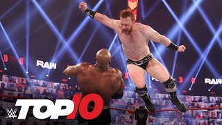 Top 10 Raw moments: WWE Top 10, Mar. 15, 2021