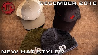 New Hat Styles - New Product Showcase - DECEMBER 2018