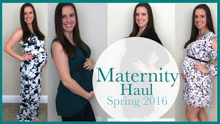 Maternity Clothes Haul & Try On | Spring 2016